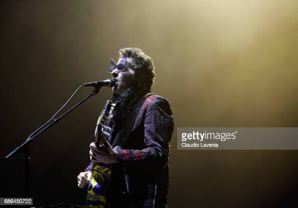 Singer/songwriter Matthieu Chedid performs during the 70th annual Cannes Film Festival at on May 21 2017 in Cannes France