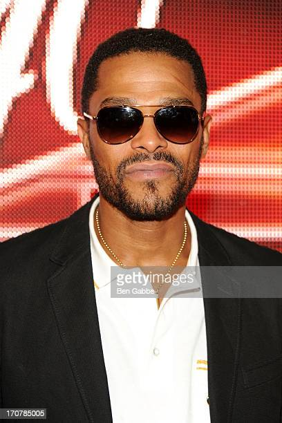 Singer/songwriter Maxwell attends The 40/40 Club 10 Year Anniversary Party at 40 / 40 Club on June 17 2013 in New York City