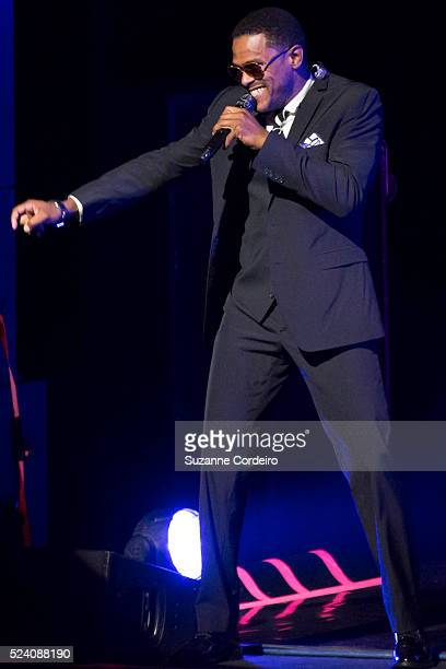 Singersongwriter Maxwell performs in concert at The Long Center For the Performing Arts on August 12 2014 in Austin Texas