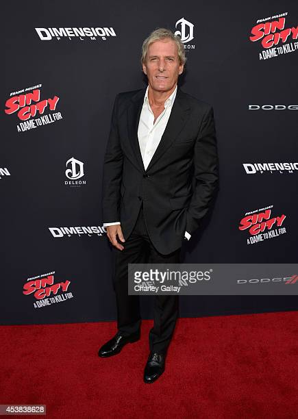 Singer/songwriter Michael Bolton attends 'SIN CITY A DAME TO KILL FOR' premiere presented by Dimension Films in partnership with Time Warner Cable...