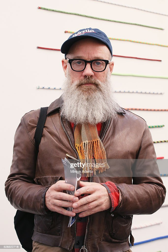 Singer/songwriter <a gi-track='captionPersonalityLinkClicked' href=/galleries/search?phrase=Michael+Stipe&family=editorial&specificpeople=178318 ng-click='$event.stopPropagation()'>Michael Stipe</a> attends the 2016 Frieze Art Fair: New York at Randall's Island on May 4, 2016 in New York City.