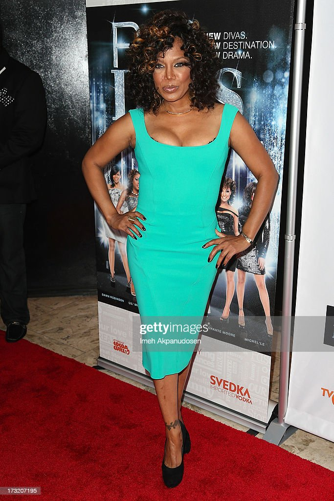 Singer/songwriter Michel'le attends the series premiere of TV One's 'R&B Divas LA' at The London Hotel on July 9, 2013 in West Hollywood, California.