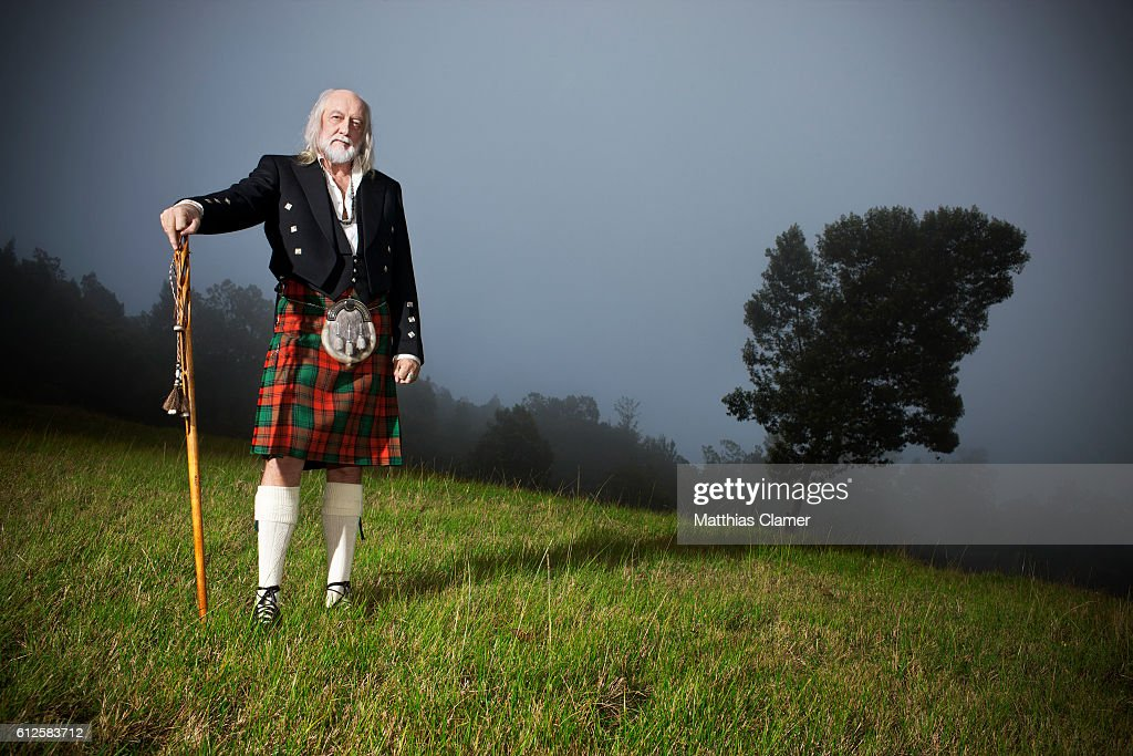 Singer/songwriter Mick Fleetwood is photographed for Playboy Magazine on December 14, 2011 on Maui.