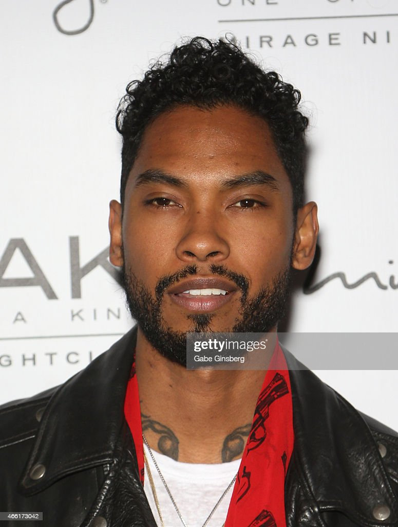 Miguel Performs At 1 OAK Nightclub