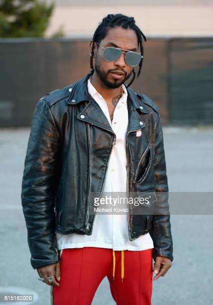 Singersongwriter Miguel at the Annenberg Foundation and KCRW's Sound In Focus Concert at Annenberg Space For Photography on July 15 2017 in Century...