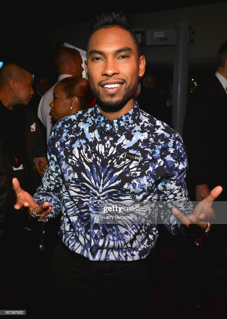 Singer-songwriter Miguel attends the TIME 100 Gala, TIME'S 100 Most Influential People In The World reception at Jazz at Lincoln Center on April 23, 2013 in New York City.