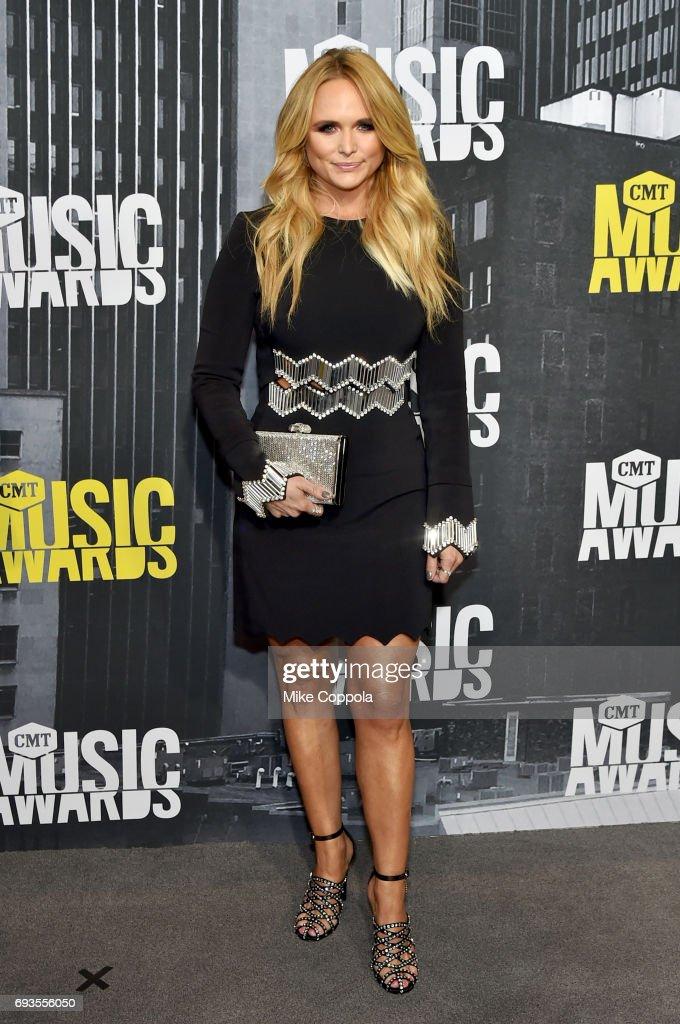 Singer-songwriter Miranda Lambert attends the 2017 CMT Music Awards at the Music City Center on June 7, 2017 in Nashville, Tennessee.
