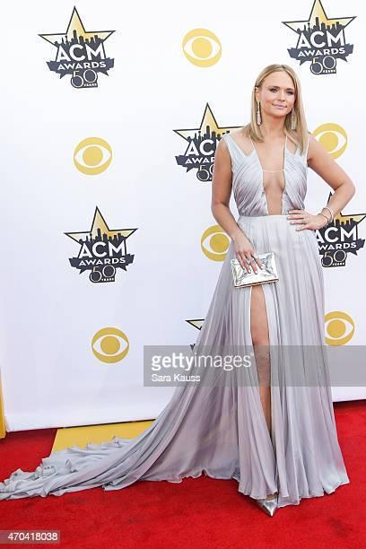 Singersongwriter Miranda Lambert attends the 50th Academy of Country Music Awards at ATT Stadium on April 19 2015 in Arlington Texas