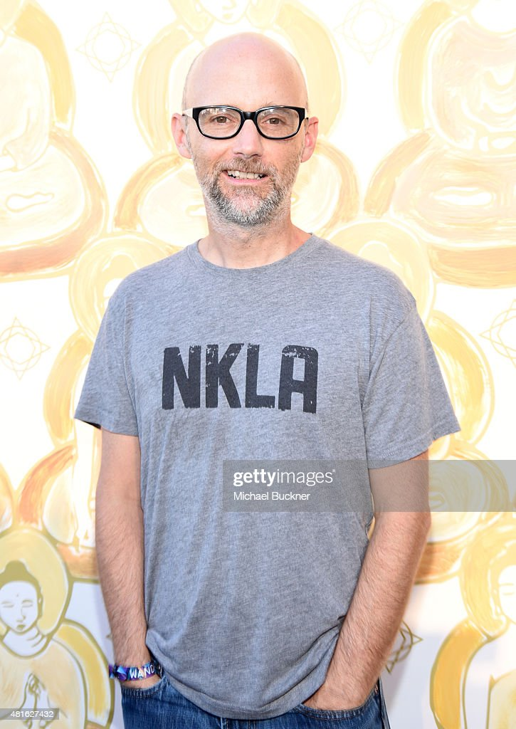 Singer/songwriter <a gi-track='captionPersonalityLinkClicked' href=/galleries/search?phrase=Moby&family=editorial&specificpeople=203129 ng-click='$event.stopPropagation()'>Moby</a> attends the Wanderlust Hollywood Grand Opening on July 22, 2015 in Los Angeles, California.