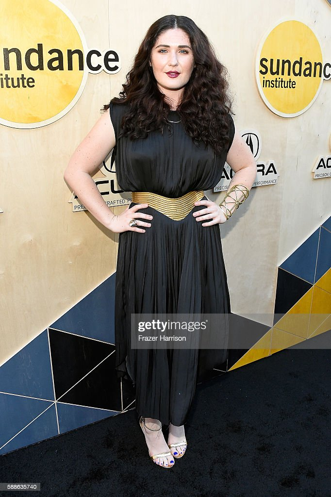Singersongwriter Morgan Kibby attends the Sundance Institute NIGHT BEFORE NEXT Benefit at The Theatre at The Ace Hotel on August 11 2016 in Los...