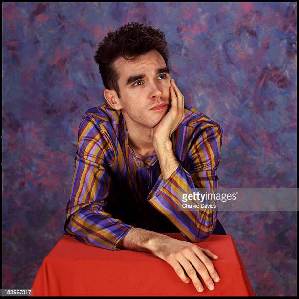 Singersongwriter Morrissey of English rock band The Smiths London 1984