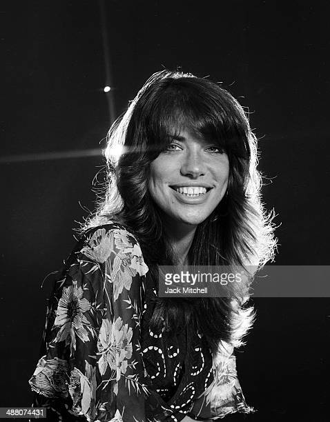 Singersongwriter musician Carly Simon photographed in June 1971