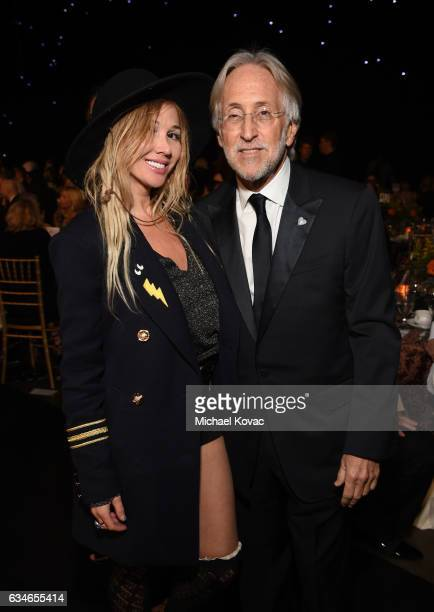 Singersongwriter Nadeea and Recording Academy President Neil Portnow attend MusiCares Person of the Year honoring Tom Petty at the Los Angeles...
