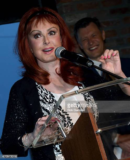 Singer/Songwriter Naomi Judd attends Recording Artist and Legend George Jones Museum Grand Opening on April 23 2015 in Nashville Tennessee