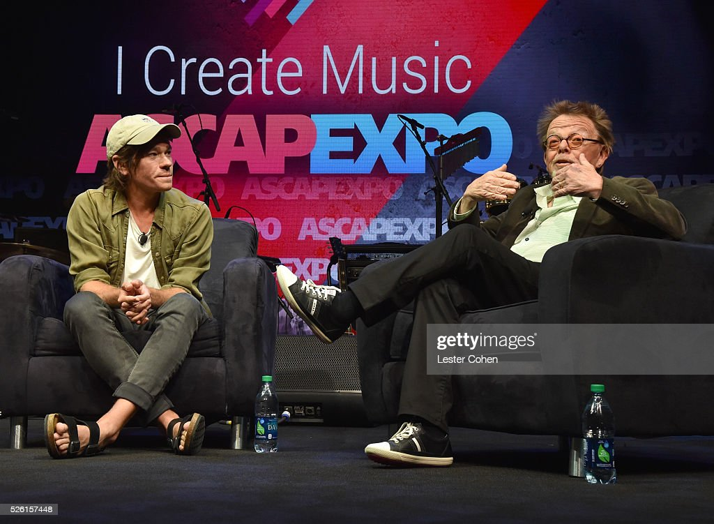 Singer-songwriter <a gi-track='captionPersonalityLinkClicked' href=/galleries/search?phrase=Nate+Ruess&family=editorial&specificpeople=6897270 ng-click='$event.stopPropagation()'>Nate Ruess</a> (L) speaks onstage with ASCAP President/Chairman <a gi-track='captionPersonalityLinkClicked' href=/galleries/search?phrase=Paul+Williams+-+Songwriter&family=editorial&specificpeople=5853768 ng-click='$event.stopPropagation()'>Paul Williams</a> during the 2016 ASCAP 'I Create Music' EXPO on April 29, 2016 in Los Angeles, California.