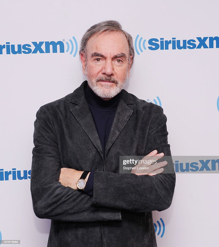 Neil Diamond attends SiriusXM's 'Town Hall' With Neil Diamond ...