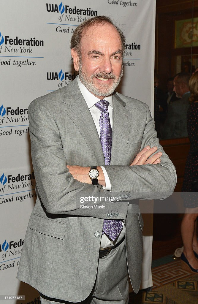 Singer/songwriter Neil Diamond attends UJA-Federation Of New York Music Visionary Of The Year Award Luncheon at The Pierre Hotel on June 21, 2013 in New York City.