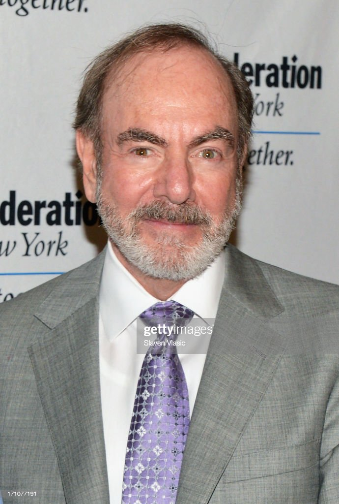 Singer/songwriter <a gi-track='captionPersonalityLinkClicked' href=/galleries/search?phrase=Neil+Diamond&family=editorial&specificpeople=210635 ng-click='$event.stopPropagation()'>Neil Diamond</a> attends UJA-Federation Of New York Music Visionary Of The Year Award Luncheon at The Pierre Hotel on June 21, 2013 in New York City.