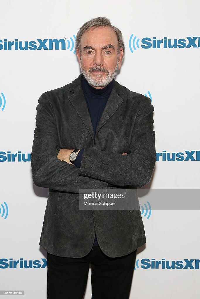 Singer-songwriter Neil Diamond visits the SiriusXM Studios on October 21, 2014 in New York City.