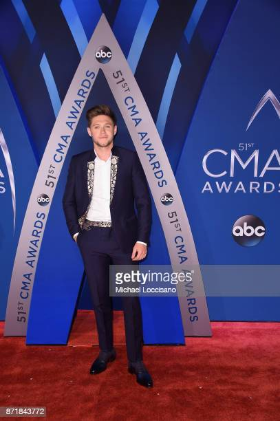 Singersongwriter Niall Horan attends the 51st annual CMA Awards at the Bridgestone Arena on November 8 2017 in Nashville Tennessee