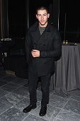 Singersongwriter Nick Jonas attends An Artist at the Table cocktails and dinner program benefit during 2016 Sundance Film Festival at the DeJoria...