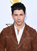 Singersongwriter Nick Jonas attends the 50th Academy of Country Music Awards at ATT Stadium on April 19 2015 in Arlington Texas