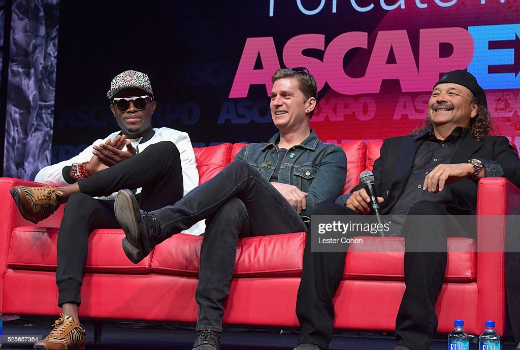 Singer-songwriter OMI, singer-songwriter Rob Thomas and composer David Vanacore speak onstage during the 'We Create Music' panel presented by Billboard, part of the 2016 ASCAP 'I Create Music' EXPO on April 28, 2016 in Los Angeles, California.