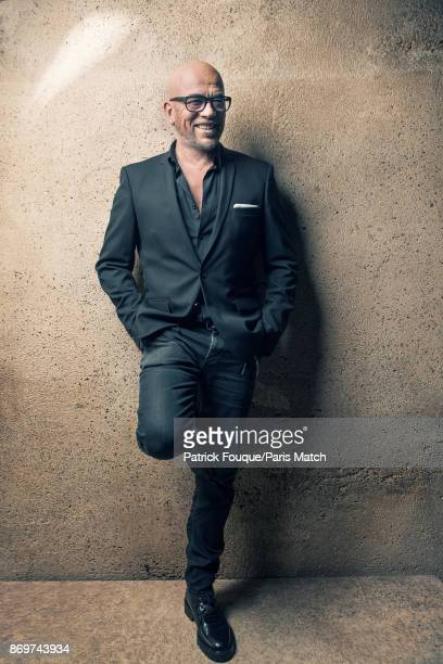 Singersongwriter Pascal Obispo is photographed for Paris Match on October 6 2017 in Paris France