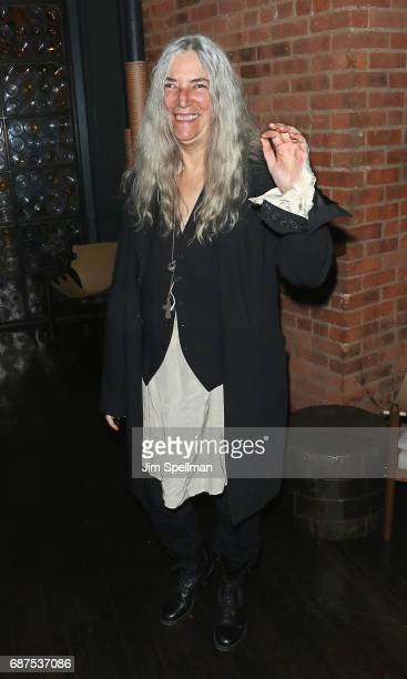 Singer/songwriter Patti Smith attends the screening after party for 'Pirates Of The Caribbean Dead Men Tell No Tales' hosted by The Cinema Societ at...
