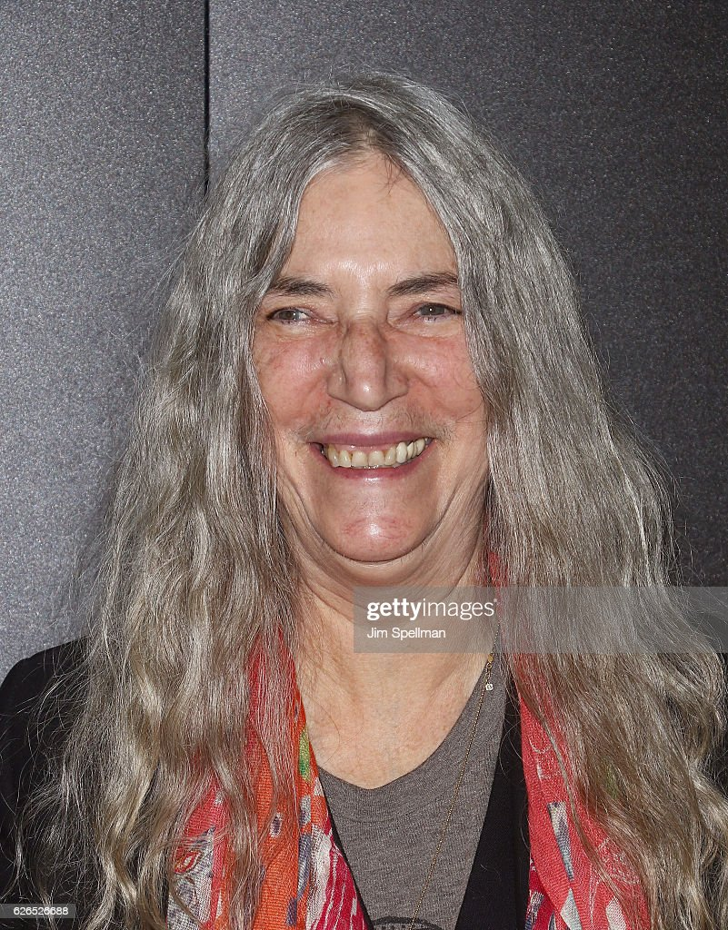 Singer/songwriter Patti Smith attends the screening of Paramount Pictures' 'Arrival' hosted by Spike Jonze and The Cinema Society at The Metrograph on November 29, 2016 in New York City.