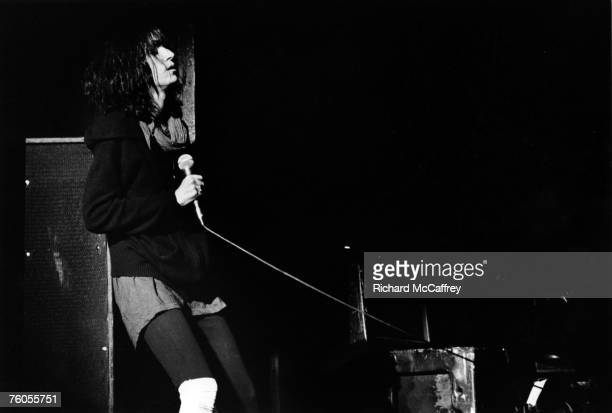 Singer/songwriter Patti Smith performs onstage in 1976