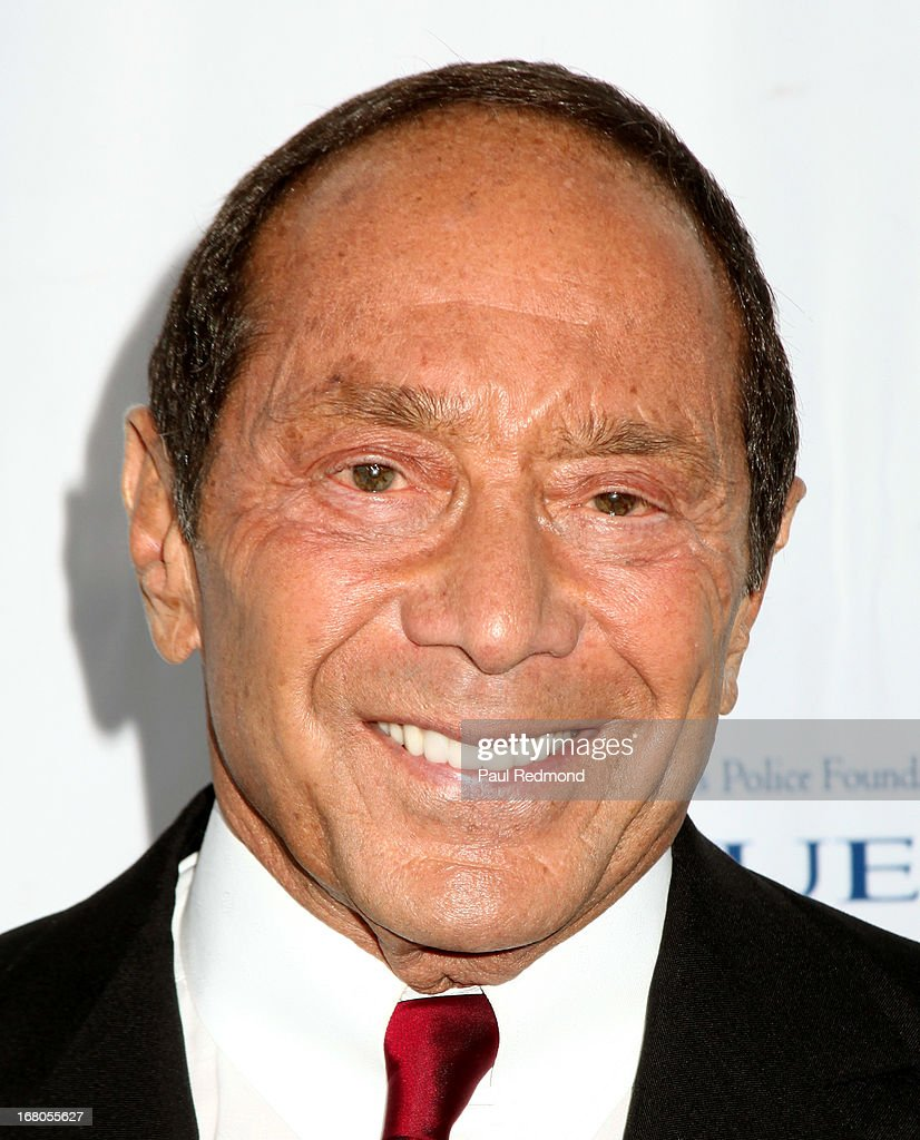 Singer/songwriter Paul Anka attends The Los Angeles Police Foundation's 15th Anniversary True Blue Gala at Paramount Studios on May 2, 2013 in Hollywood, California.