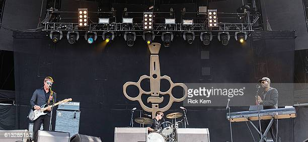 Singersongwriter Paul Banks and rapper RZA of Banks Steelz perform onstage during weekend two day one of Austin City Limits Music Festival at Zilker...