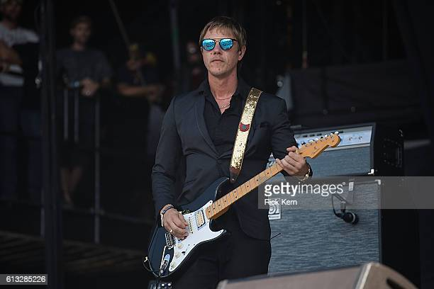 Singersongwriter Paul Banks of Banks Steelz performs onstage during weekend two day one of Austin City Limits Music Festival at Zilker Park on...