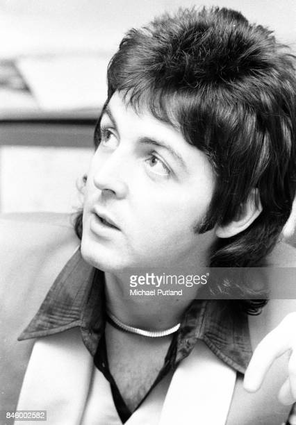 Singersongwriter Paul McCartney of British rock group Wings London 23rd November 1973