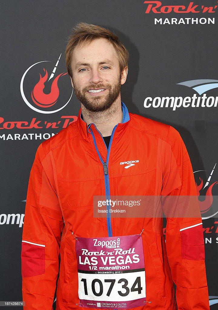 Singer/songwriter Paul McDonald arrives at the Zappos.com Rock 'n' Roll Las Vegas Marathon on December 2, 2012 in Las Vegas, Nevada.