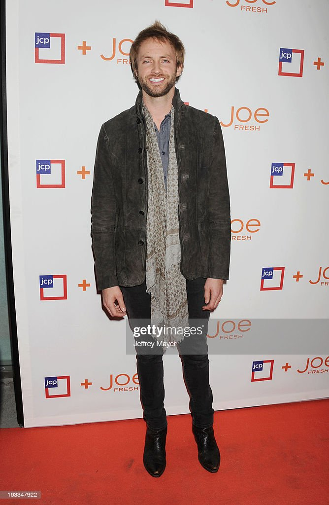 Singer/songwriter Paul McDonald attends the Joe Fresh at jcp launch event at Joe Fresh at jcp Pop Up on March 7, 2013 in Los Angeles, California.