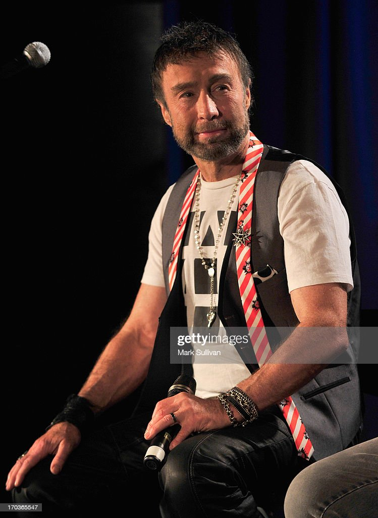 Singer/songwriter Paul Rodgers onstage during An Evening With Bad Company at The GRAMMY Museum on June 11, 2013 in Los Angeles, California.