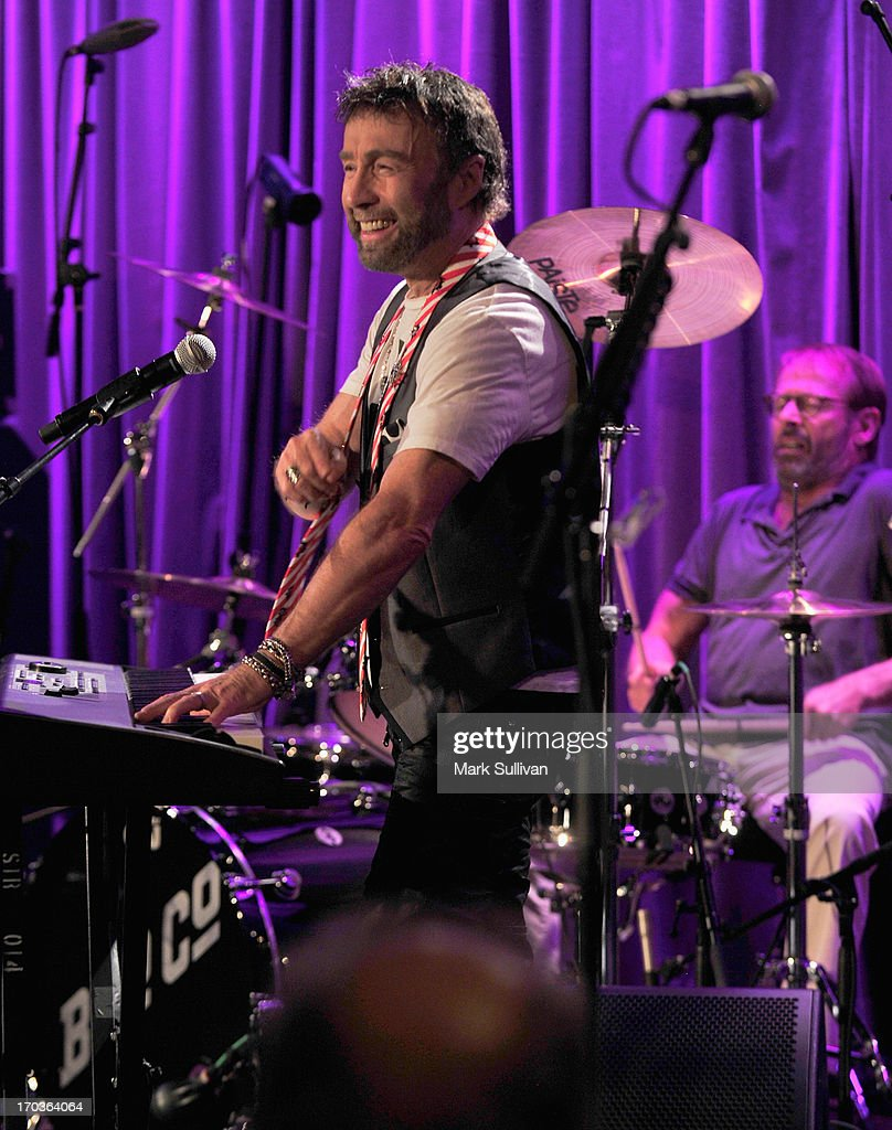 Singer/songwriter Paul Rodgers performs during An Evening With Bad Company at The GRAMMY Museum on June 11, 2013 in Los Angeles, California.