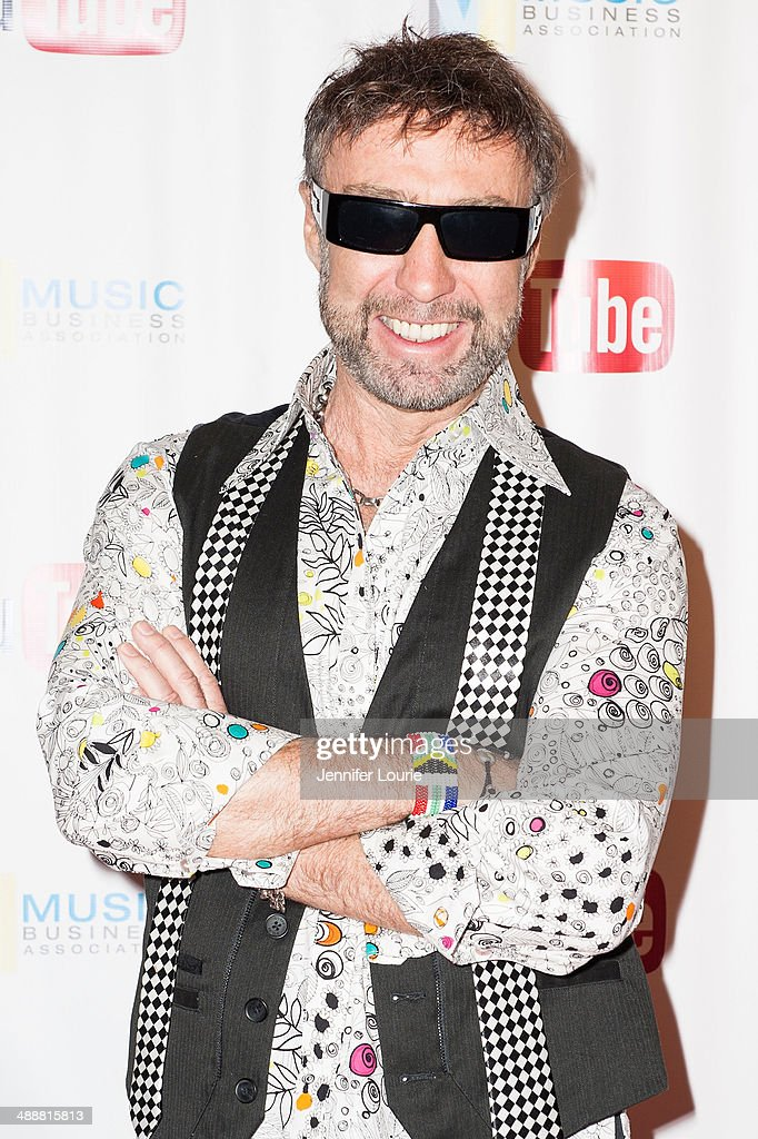 Singer-songwriter Paul Rodgers receives the Chairman's Award for Sustained Creative Achievement at the Music Biz 2014 Awards at the Hyatt Regency Century Plaza on May 8, 2014 in Century City, California.