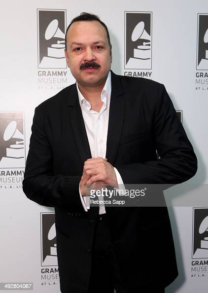 Singer/songwriter Pepe Aguilar attends An Evening With Pepe Aguilar at The GRAMMY Museum on May 21 2014 in Los Angeles California