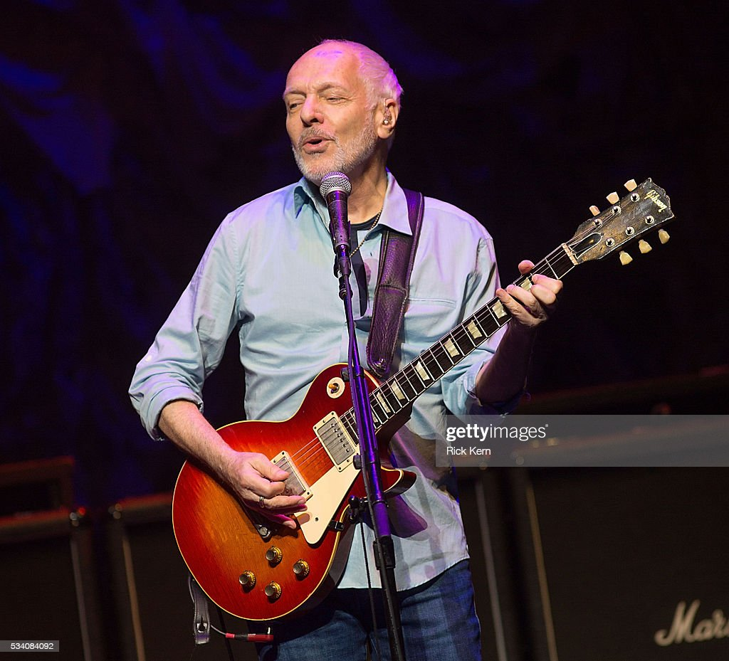Singer Songwriter: Peter Frampton Performs At ACL Live