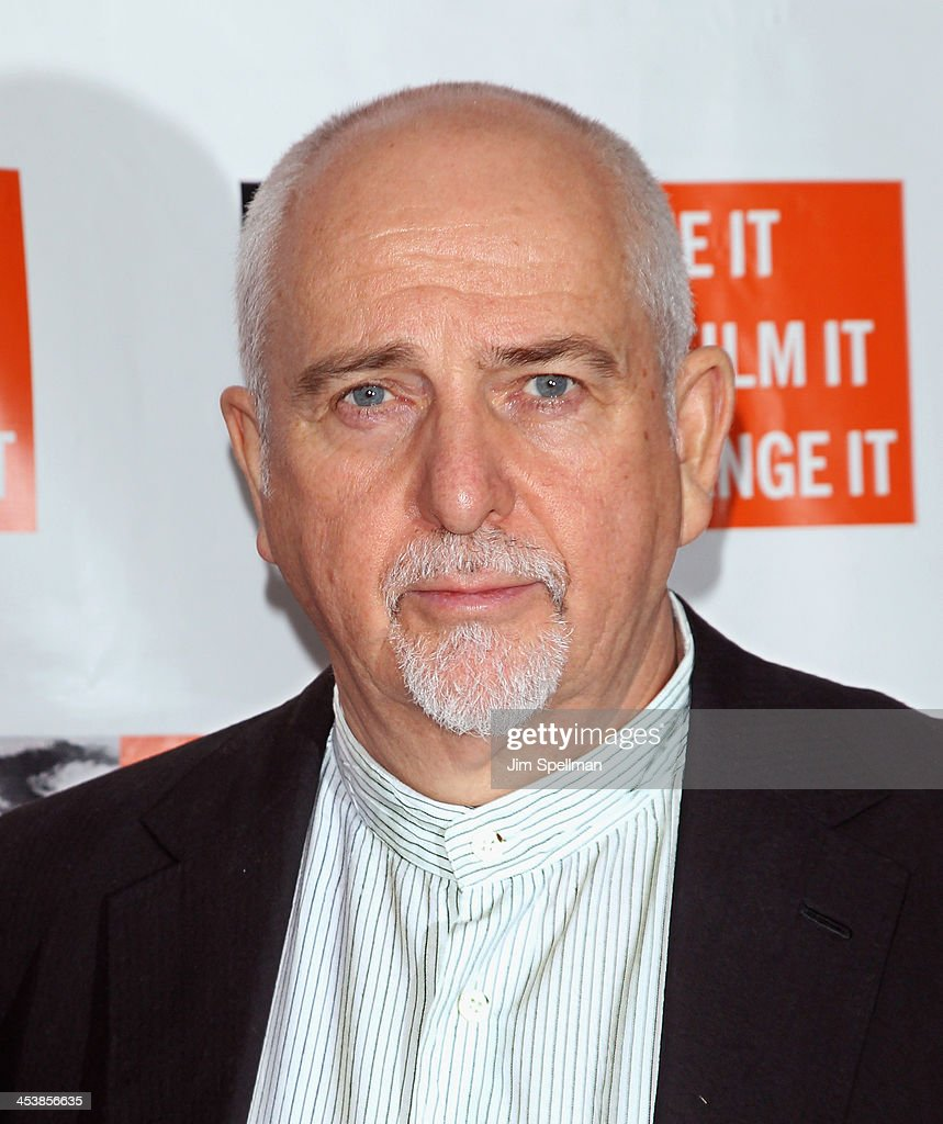 Singer/songwriter Peter Gabriel attends the 2013 Focus For Change gala benefiting WITNESS at Roseland Ballroom on December 5, 2013 in New York City.