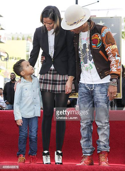 Pharrell Williams Son Rocket Stock Photos and Pictures ...