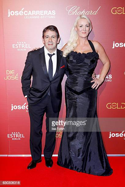 Singersongwriter Placido Domingo Jr and Friederike Krum attend the 22th Annual Jose Carreras Gala on December 14 2016 in Berlin Germany