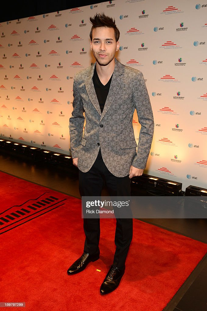 Singer-songwriter Prince Royce attends Latino Inaugural 2013: In Performance at Kennedy Center at The Kennedy Center on January 20, 2013 in Washington, DC.