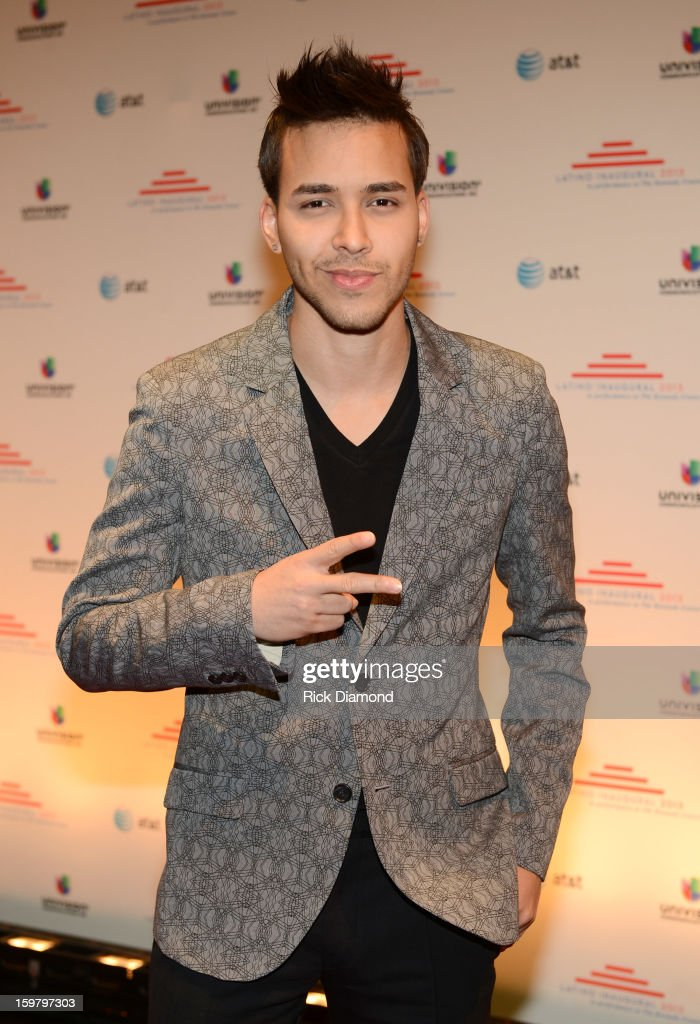 Singer-songwriter <a gi-track='captionPersonalityLinkClicked' href=/galleries/search?phrase=Prince+Royce&family=editorial&specificpeople=6918529 ng-click='$event.stopPropagation()'>Prince Royce</a> attends Latino Inaugural 2013: In Performance at Kennedy Center at The Kennedy Center on January 20, 2013 in Washington, DC.