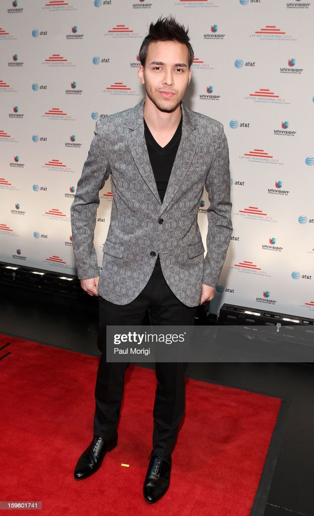 Singer/songwriter Prince Royce attends the Latino Inaugural 2013 at The Kennedy Center on January 20, 2013 in Washington, DC.