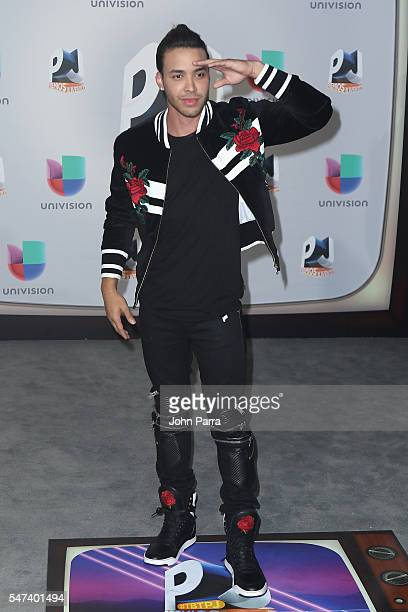 Singersongwriter Prince Royce attends the Univision's 13th Edition Of Premios Juventud Youth Awards at Bank United Center on July 14 2016 in Miami...