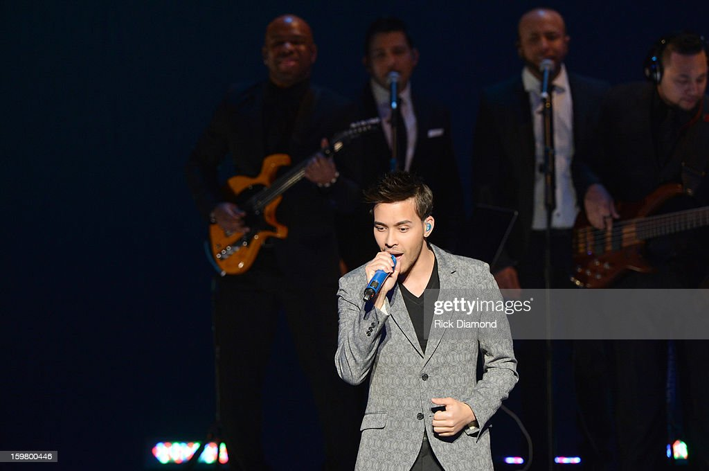 Singer-songwriter Prince Royce performs at Latino Inaugural 2013: In Performance at Kennedy Center at The Kennedy Center on January 20, 2013 in Washington, DC.